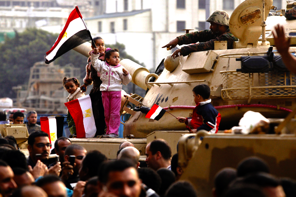 Egypt's Military Holds the Masses in Check