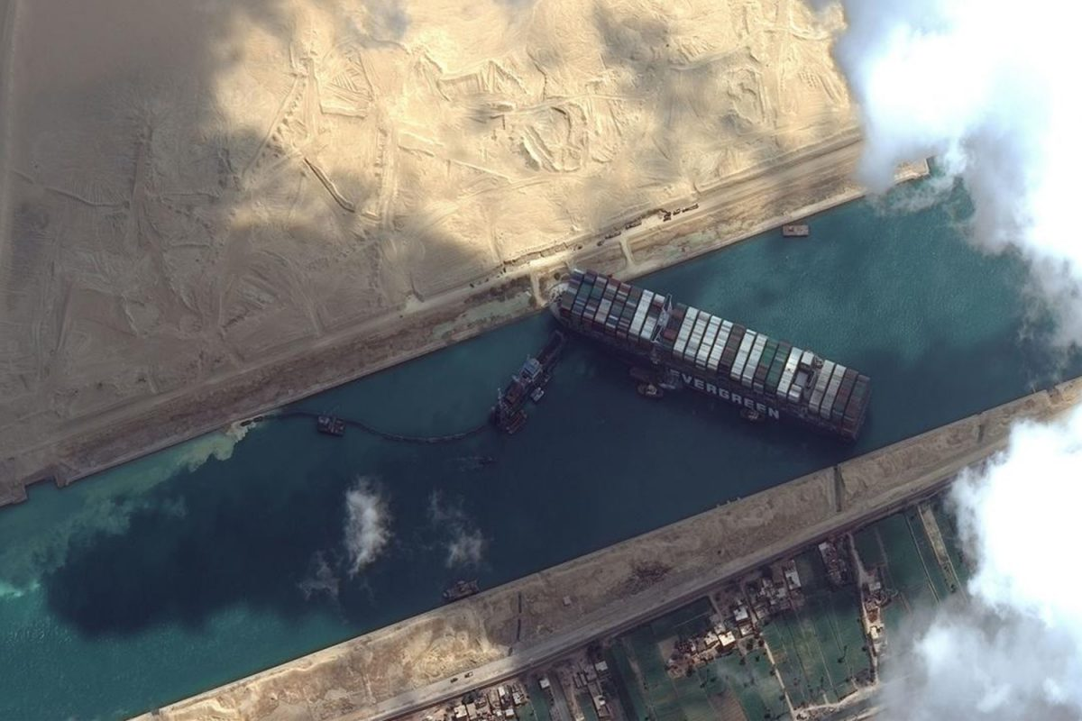 Geopolitics of the Suez Canal