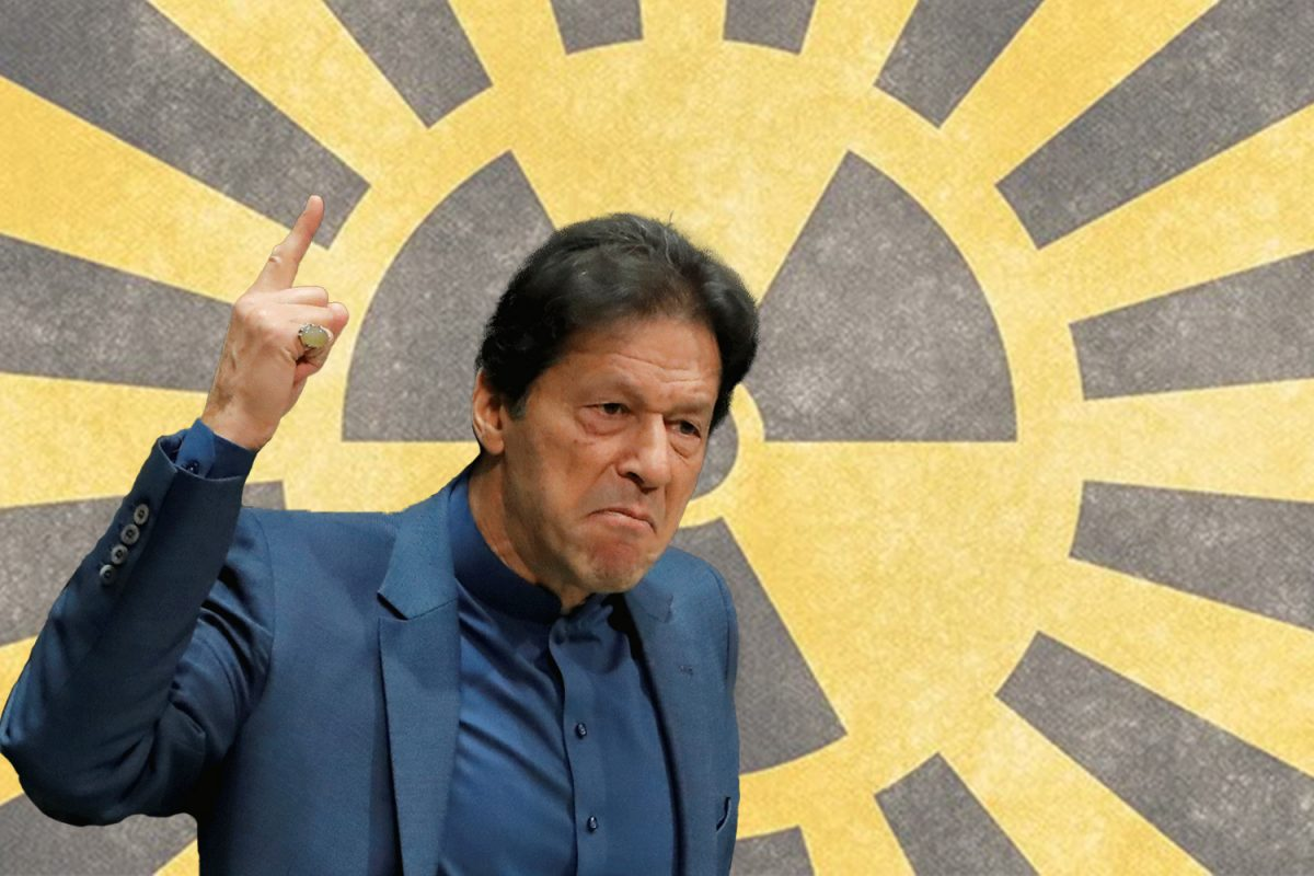 Imran Khan Bargains with Pakistan's Nuclear Weapons