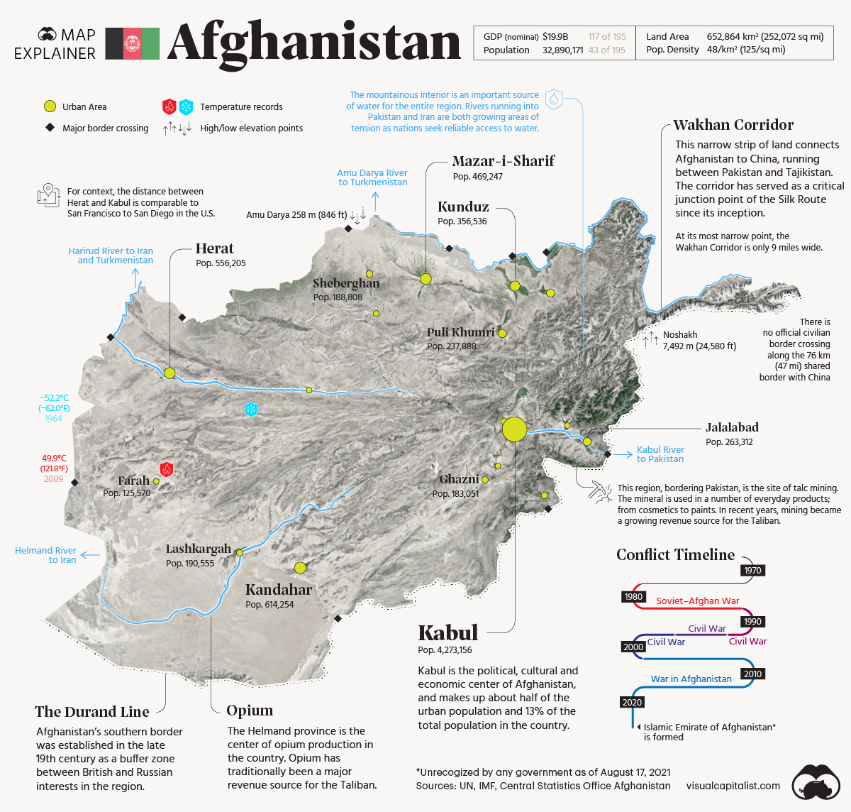 afghanistan map explainer